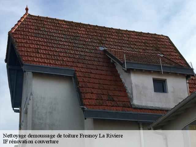 Nettoyage de toiture à Fresnoy La Riviere tél: 03.59.28.30.82