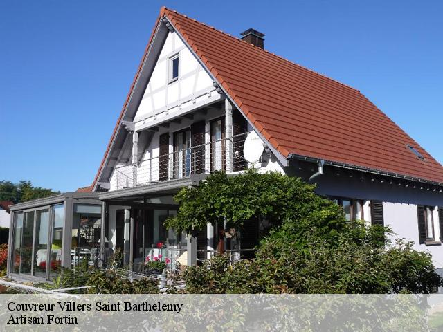 Couvreur  villers-saint-barthelemy-60650 Artisan Fortin