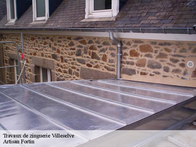 Travaux de zinguerie  villeselve-60640 Cancy Couverture
